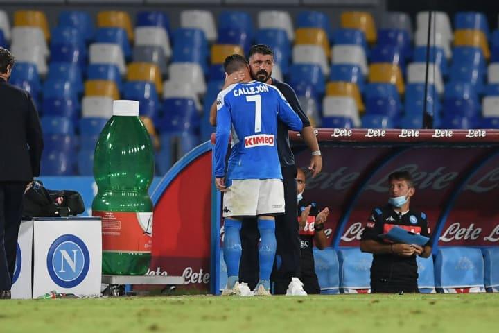 Gennaro Gattuso, Jose Callejon