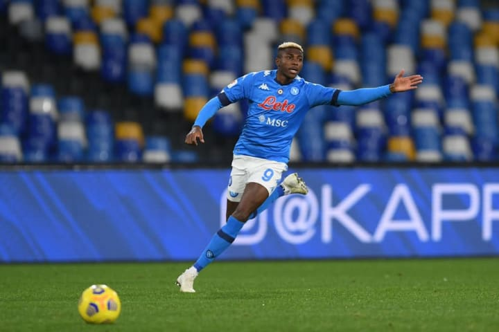 Victor Osimhen became Napoli record signing in the summer