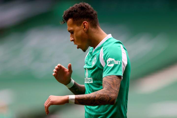 Werder-Stürmer Davie Selke wartet auf Treffer