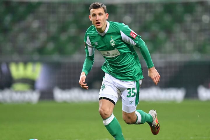 Mittelfeld-Motor Maximilian Eggestein (24) könnte zum nächsten Werder-Kapitän avancieren