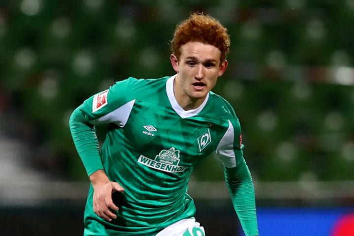 Werder Bremen forward Josh Sargent is from a family of athletes