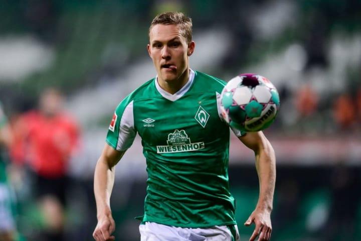 Ludwig Augustinsson (26) ist Werders Topscorer der laufenden Spielzeit