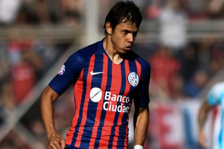 Angel Romero San Lorenzo Santos Libertadores Mata-mata