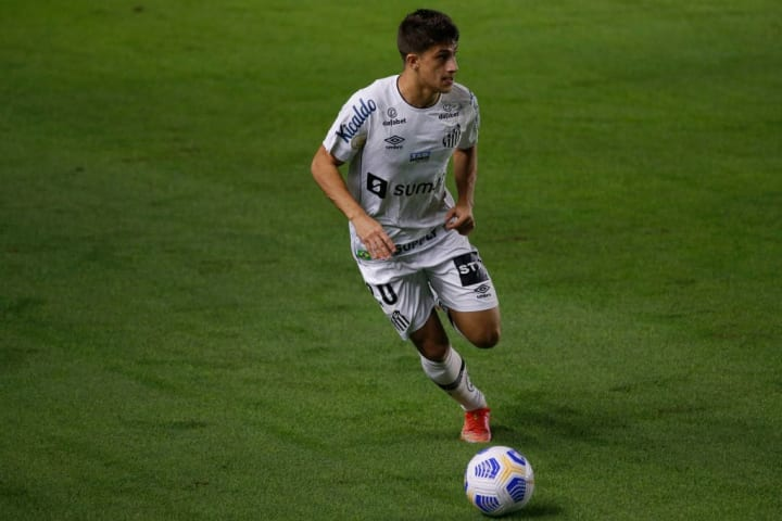 Gabriel Pirani Grêmio Santos Mano a Mano