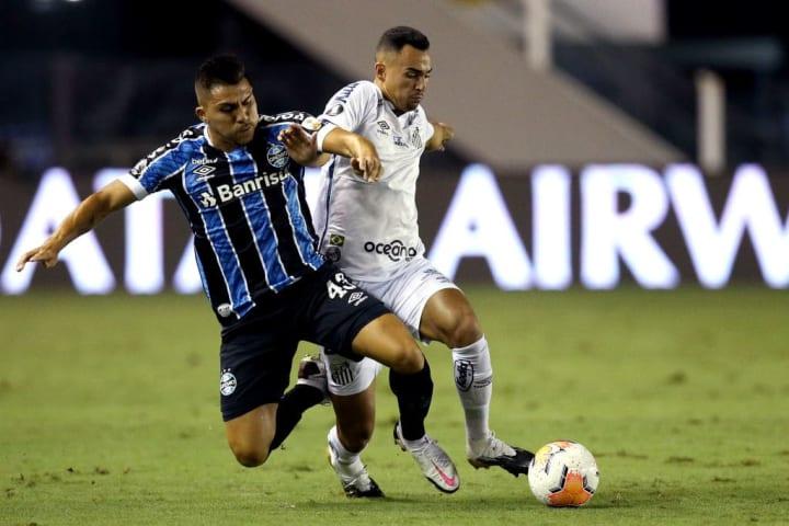 Grêmio, Santos, Libertadores
