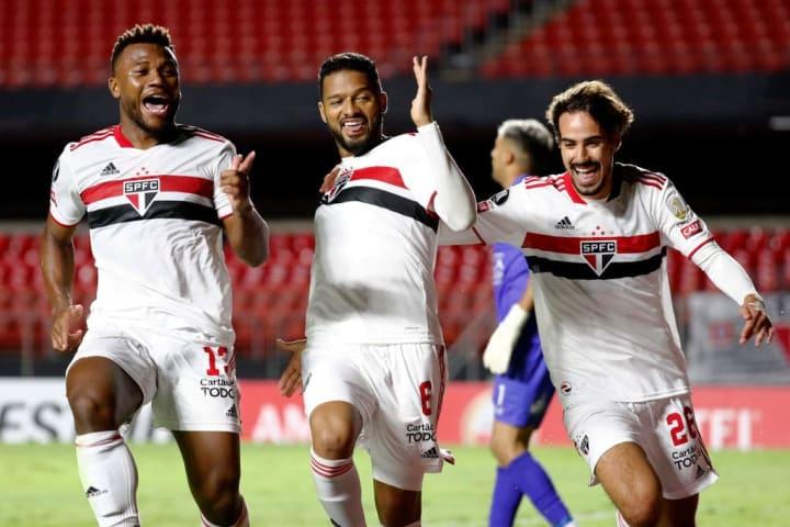 Reinaldo Luan Igor Gomes São Paulo Rentistas Libertadores Vaga