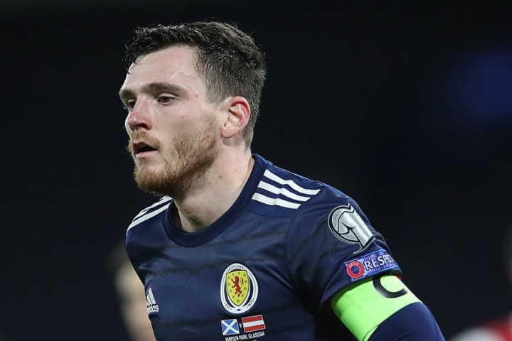 Andy Robertson hasn't been at his best for Scotland
