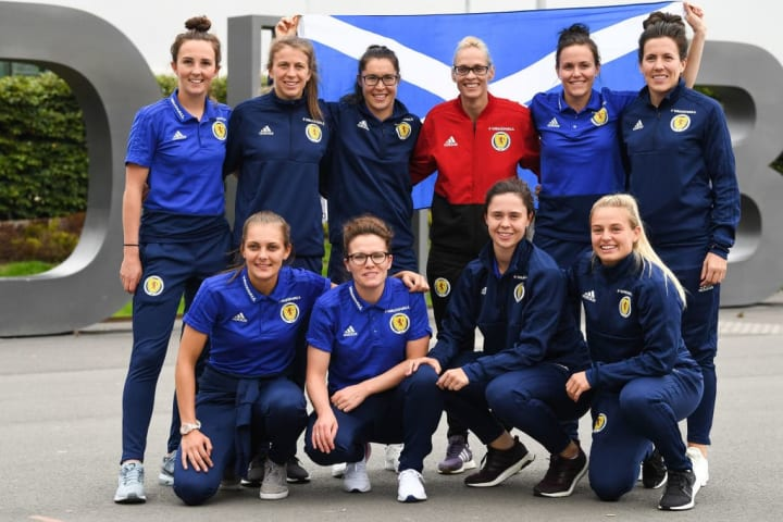 Scotland's Women's Football Team Qualify For The Next World Cup