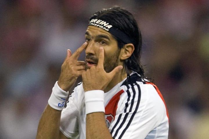 Sebastian Abreu of River Plate from Arge