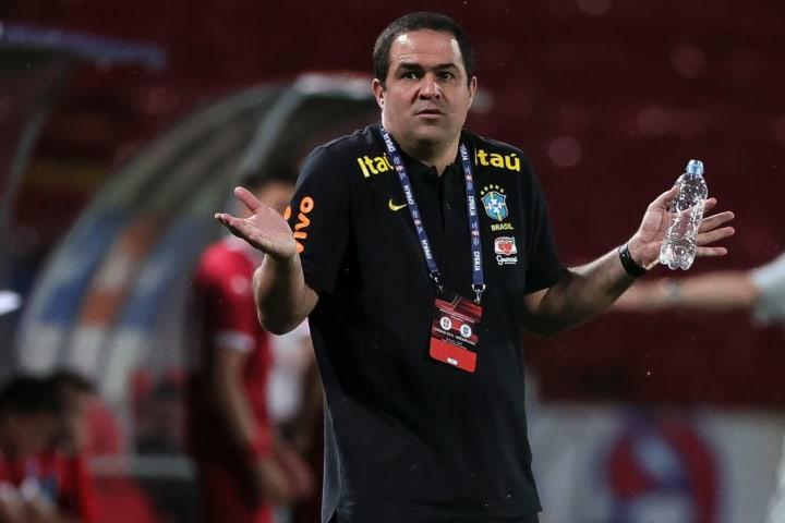 André Jardine Seleção olímpica Brasil Estreia
