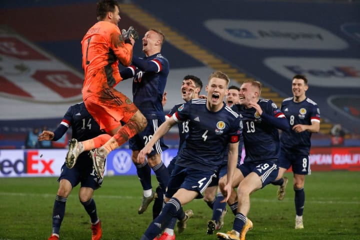 Scotland qualified for the Euros in dramatic fashion
