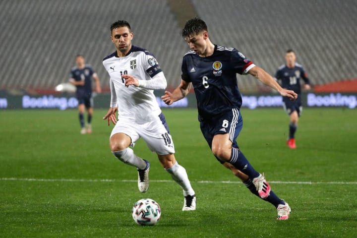Tierney impressed at wing-back against Israel