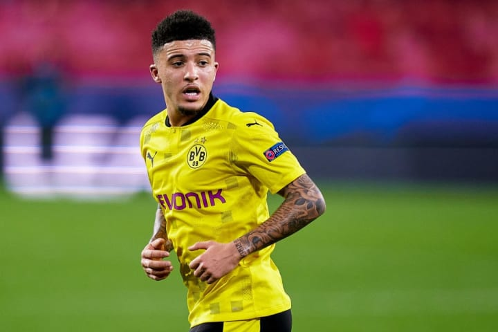 Man Utd hope Sancho's price tag will be significantly less than in 2020