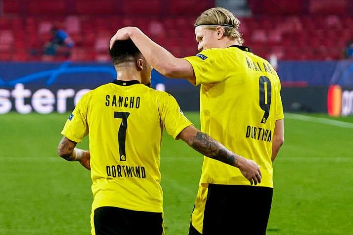 Man Utd are interested in Jadon Sancho & Erling Haaland and have spoken to Dortmund about Van de Beek