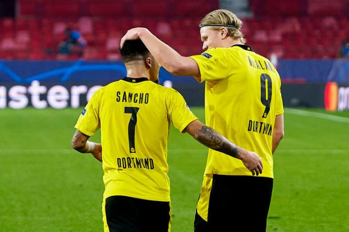 Dortmund could be more willing to sell Jadon Sancho than Haaland