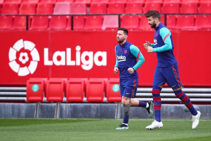 Lionel Messi Gerard Piqué Parceiro Carreira Barcelona