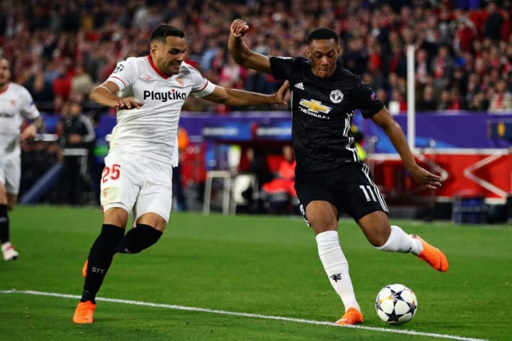 Anthony Martial, Gabriel Mercado