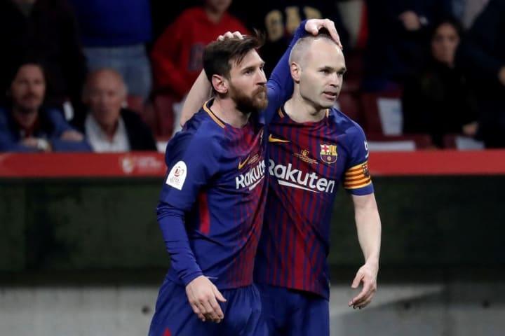 Messi Iniesta Parceiro Barcelona Carreira