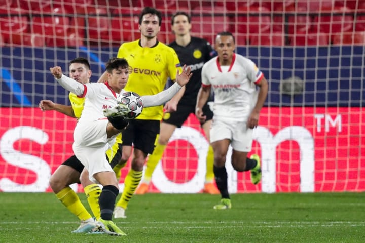 Sevilla and BVB faced each other last week