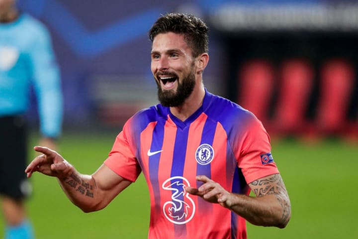 Giroud has excelled in the Champions League