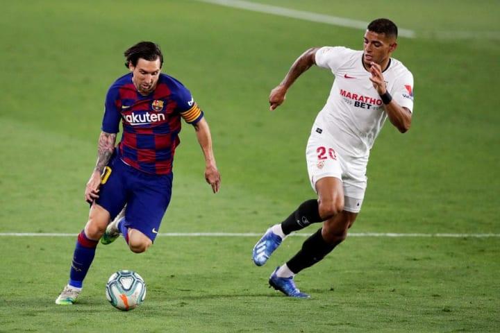 Diego Carlos, Lionel Messi