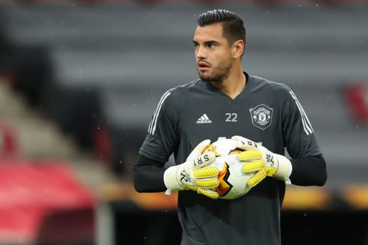 Romero has been replaced by Dean Henderson