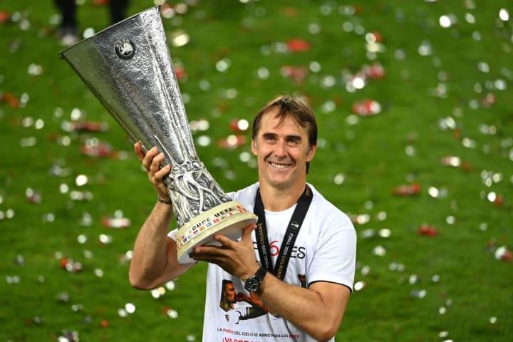 Lopetegui guided Sevilla to the Europa League