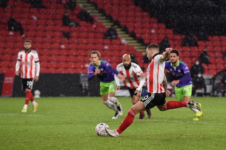 Sheffield United got a lucky break against Bristol City