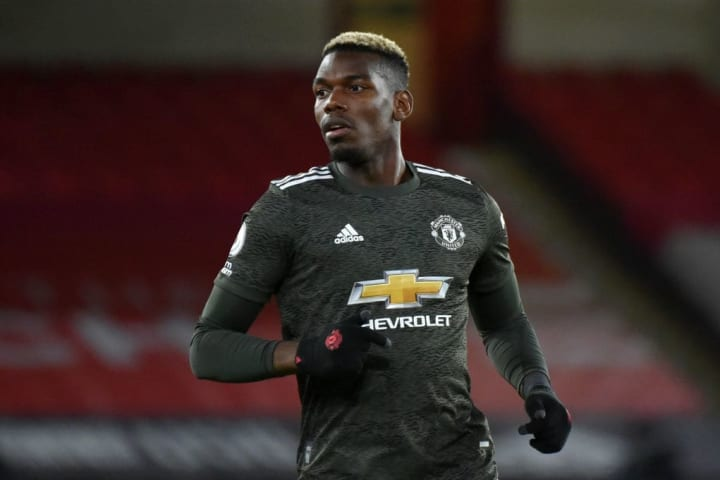 Paul Pogba's performance at Sheffield United could see him retain his place in the starting XI