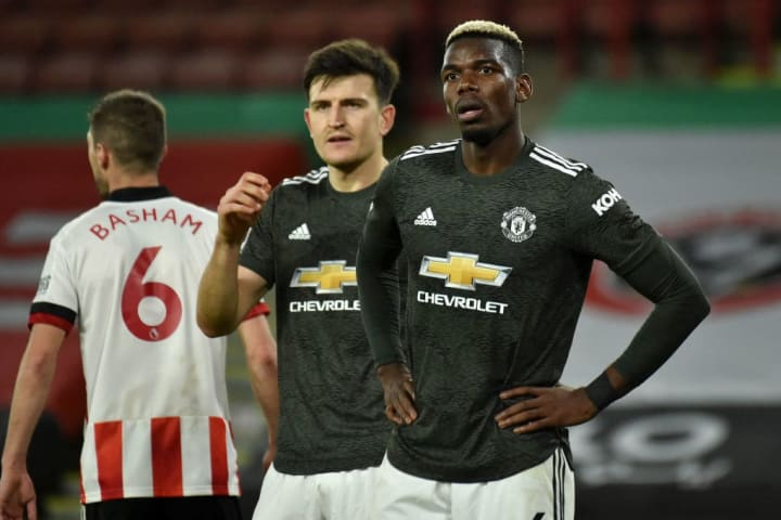 Pogba's future at United remains unclear