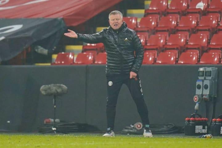 Chris Wilder has seen a vast improvement from Sheffield United