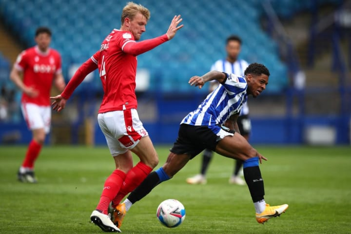 Kadeem Harris and co. couldn't make the breakthrough against Forest