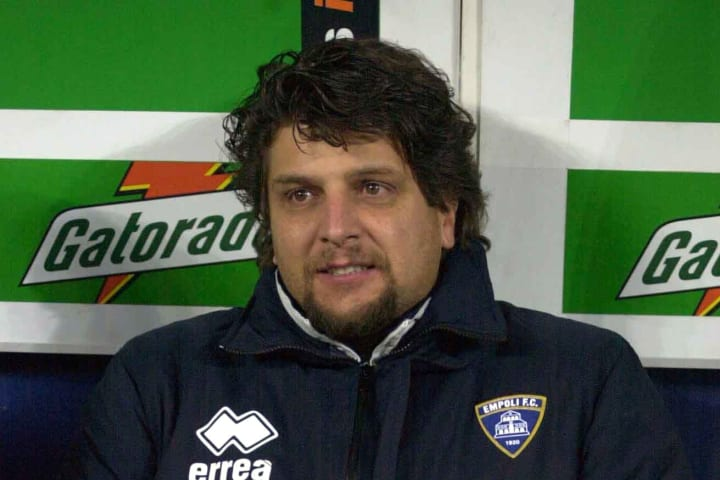 Silvio Baldini ai tempi dell'Empoli
