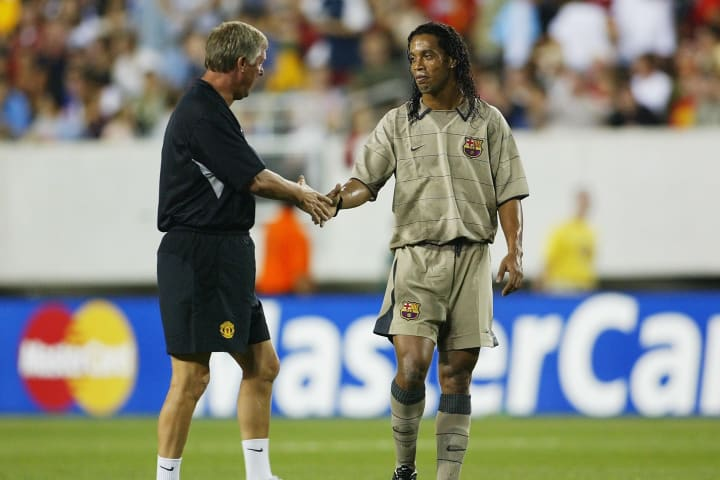 Ronaldinho prefirió fichar por el FC Barcelona