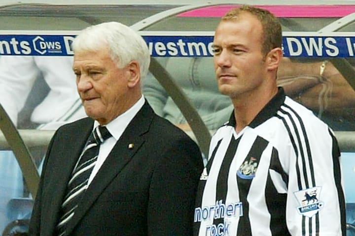 Alan Shearer, Bobby Robson