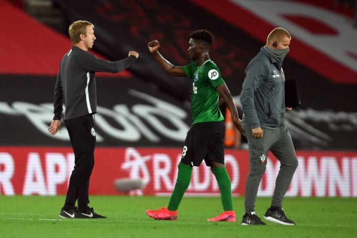 Yves Bissouma has thrived under the management of Graham Potter