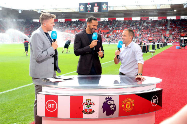 Joe Cole, Jake Humphrey, Rio Ferdinand