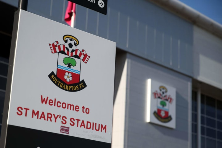 Southampton and Liverpool will meet at St Mary's stadium