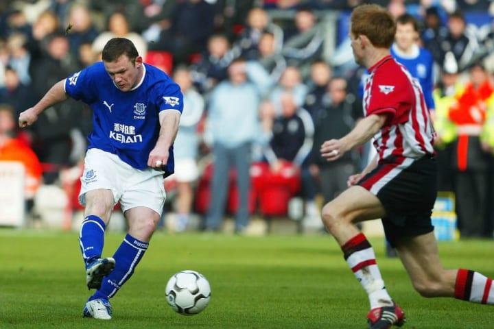 Wayne Rooney et Michael Svensson