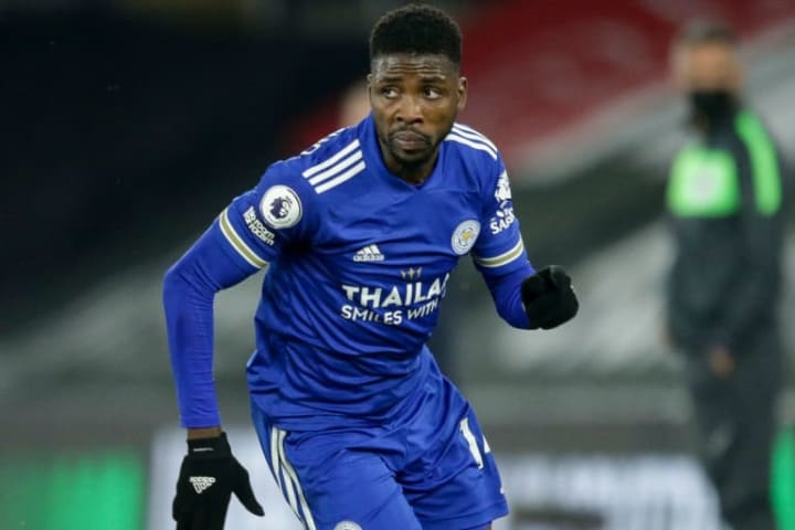 Kelechi Iheanacho has become Leicester's main man this season