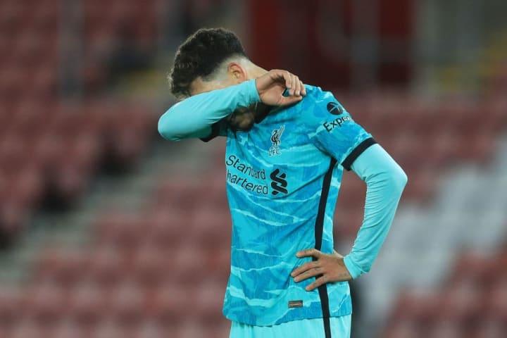 Kekecewaan setelah kalah 1-0 dari Southampton