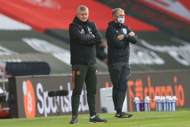 Solskjaer wants his team to 'hang in there'