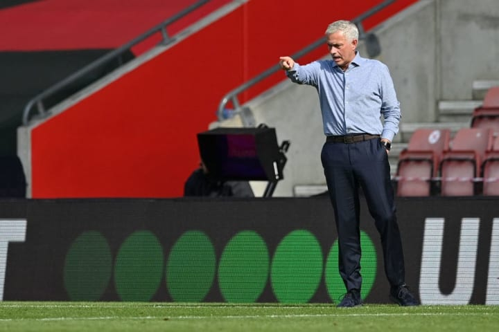 Jose Mourinho responded perfectly after being out-coached by Ralph Hasenhuttl in the opening period