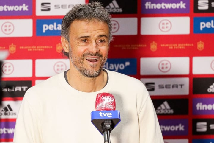 Luis Enrique hasn't selected a single Real Madrid player for Spain