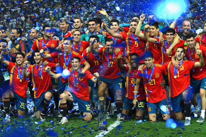 Spain qualified through the 2019 Under-21 European Championship