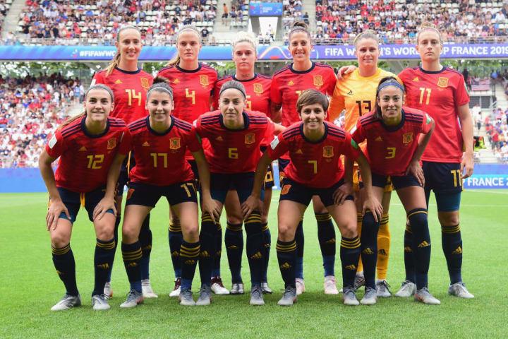 Skuad Spanyol Barcelona hanya kalah tipis dari Amerika Serikat di babak sistem gugur Piala Dunia 2019
