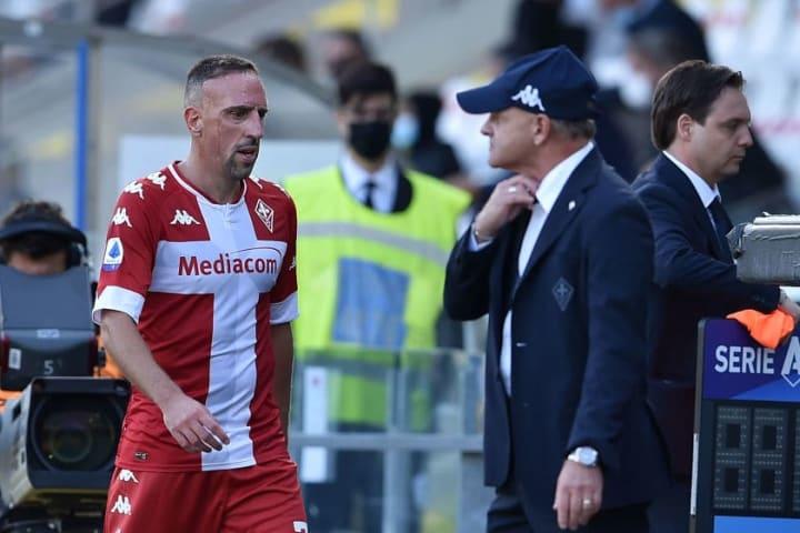 Franck Ribery, Giuseppe Iachini