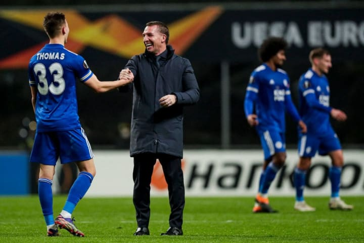 A quieter night for the Foxes in Europe would suit Rodgers
