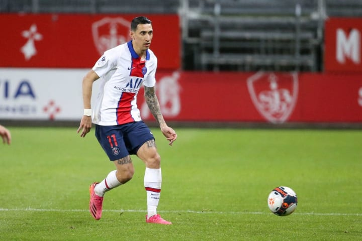 Angel Di Maria has extended his deal at PSG