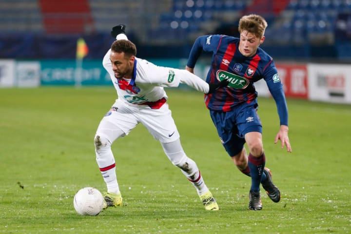 Neymar Jr, Johann Lepenant